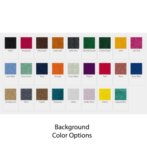 Logo Mat Digiprint Color Chart