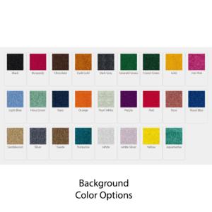 Logo Mat Digiprint Color Chart