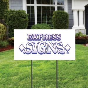 12 x 24 Yard Sign