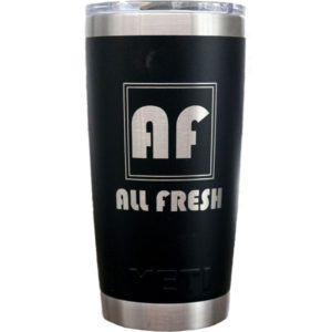 YETI 20oz Tumbler with Laser Engraving