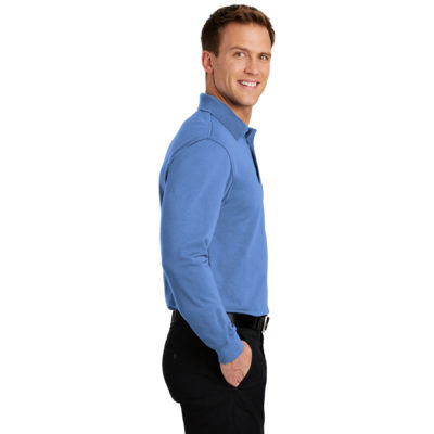Port Authority Rapid Dry Polo Long Sleeve 3