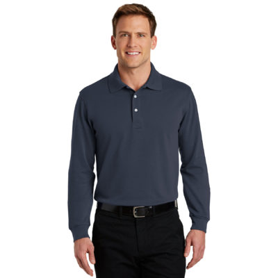 Port Authority Rapid Dry Polo Long Sleeve