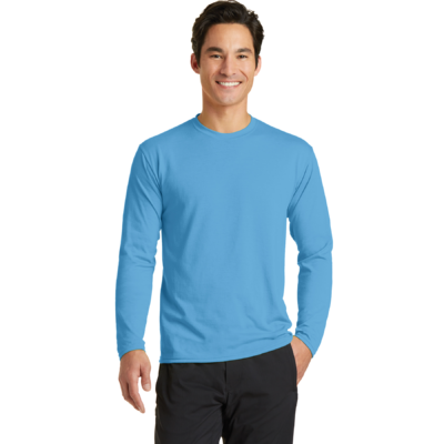 Port & Company Performance Blend Long Sleeve Tee Shirt