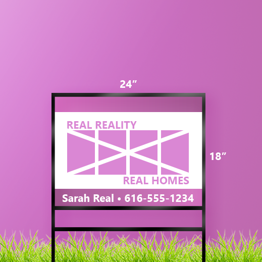 18 x 24 Real Estate Sign