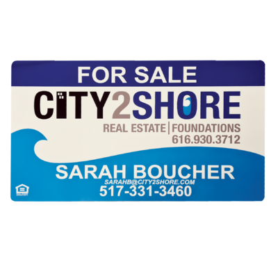 Real Estate Sign 18x30 Example - City2Shore