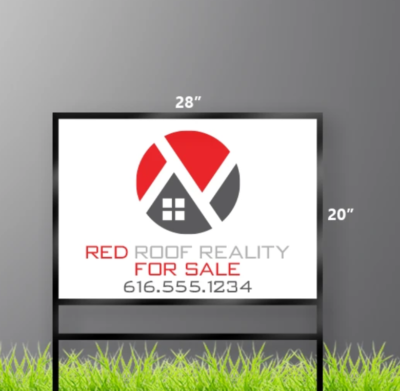 20 x 28 Real Estate Sign