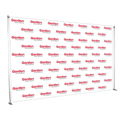 Step and Repeat Backdrop Banner Display