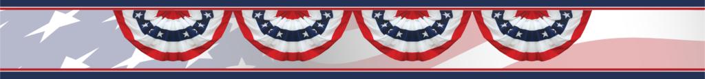 Political Patriotic Banner Campaign Narrow 2