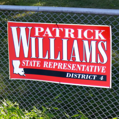 Big Campaign Sign
