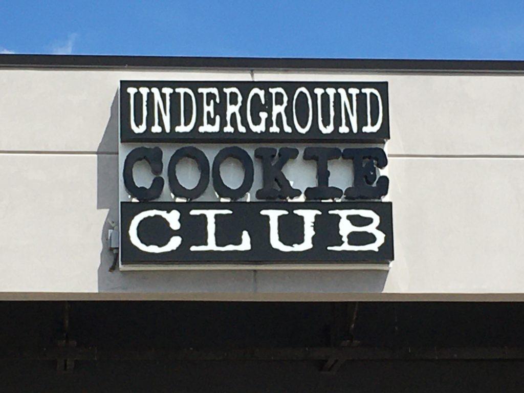 Wall Sign - Underground Cookie Club