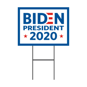 2020 Election Biden Yard Signs