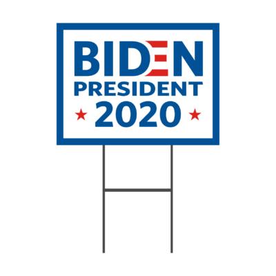 2020 Election Biden Yard Signs
