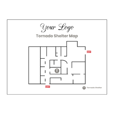 Tornado Shelter Map