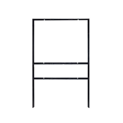 18 x 24 Real Estate Frame with Single Rider Slot